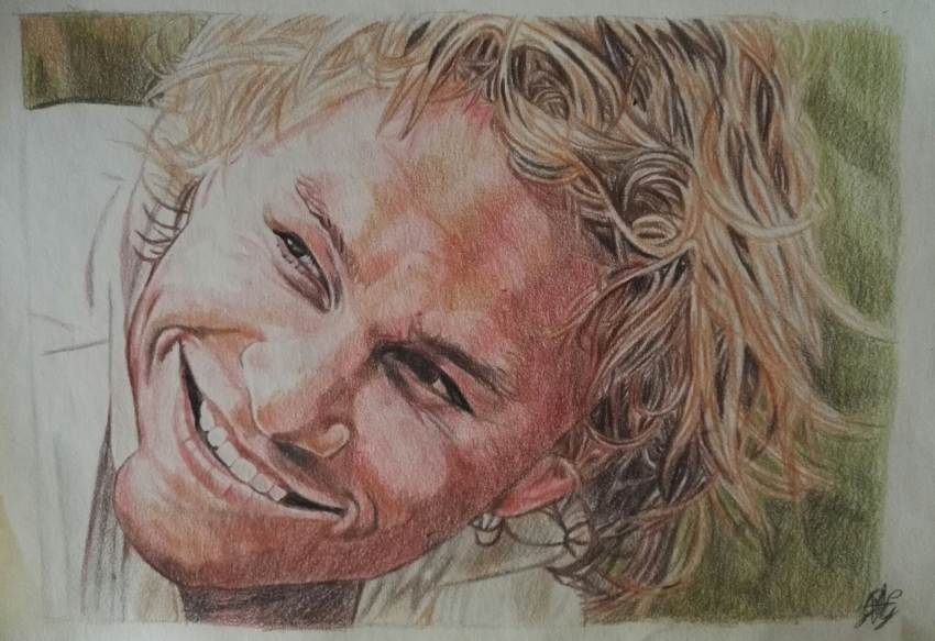 Heath Ledger par g1adina87